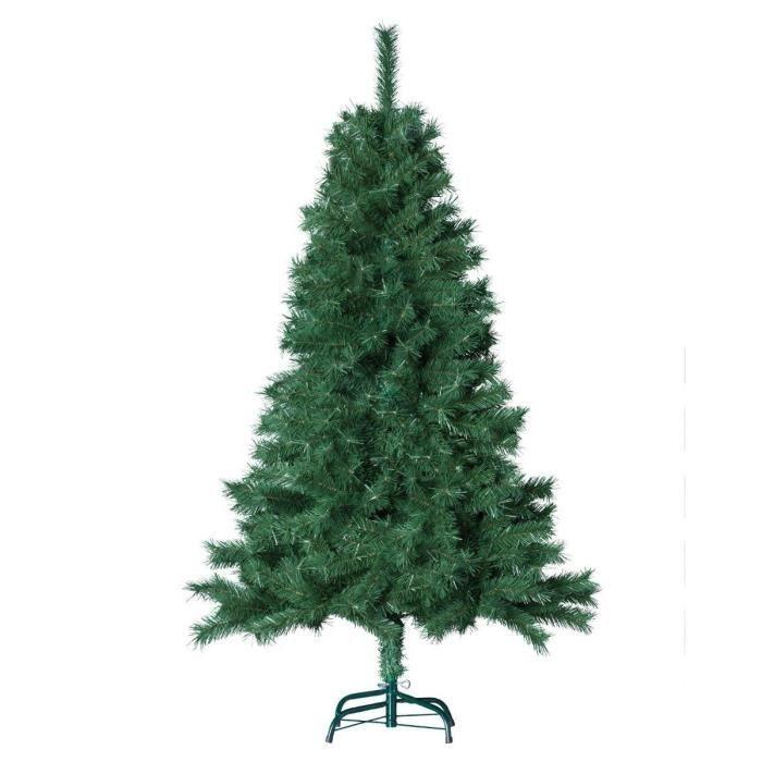 Sapin de no l artificiel 650 branches hauteur 1m80 for Mini sapin de noel artificiel