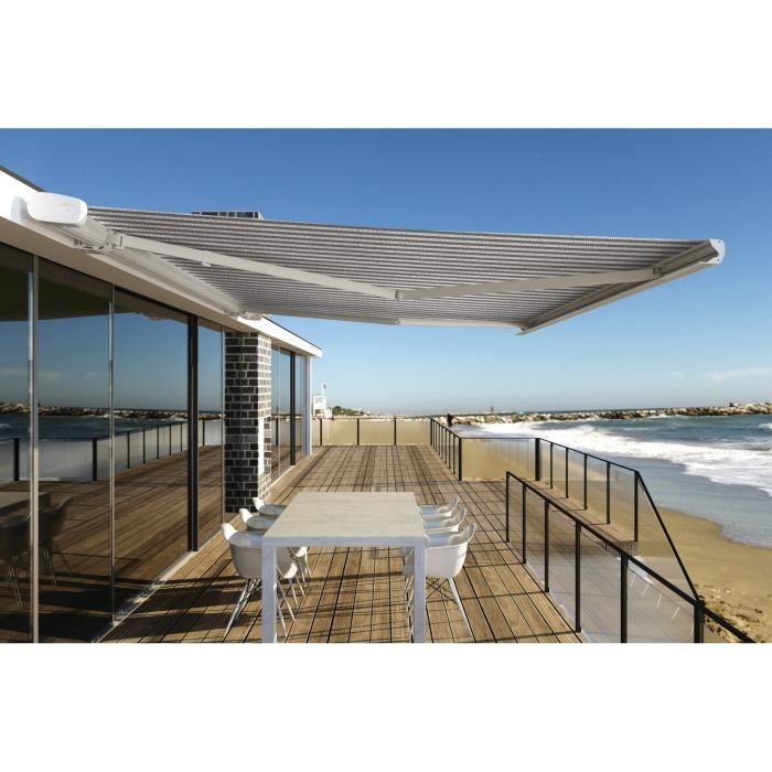 store banne coffre cook 3500x2500 toile gris n composition. Black Bedroom Furniture Sets. Home Design Ideas