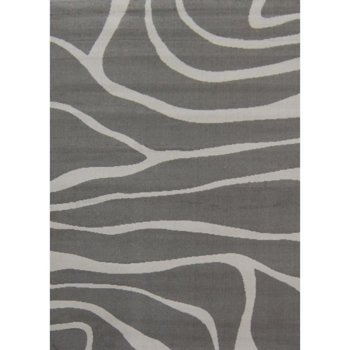 paradise tapis de salon gris anthracite 120x160 cm achat. Black Bedroom Furniture Sets. Home Design Ideas