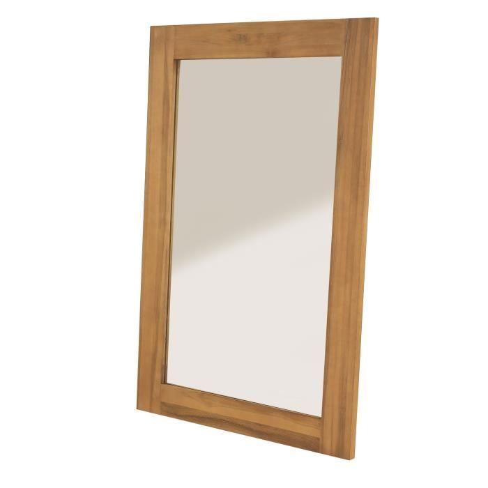 Inwood miroir rectangulaire achat vente miroir teck for O miroir la rochelle