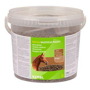 KERBL Pellets MultiVital complément minéral pour chevaux - 4kg