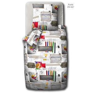 housse couette 140x200 enfant achat vente housse couette 140x200 enfant pas cher cdiscount. Black Bedroom Furniture Sets. Home Design Ideas