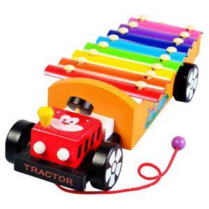 PACK PIANO - CLAVIER 8 Scales Cartoon Car Remorque Xylophone main Frapp