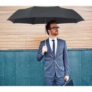 PARAPLUIE PLEMO Parapluie pliant noir de voyage automatique