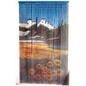 rideau en bambou motif proven al achat vente rideau bambou fer bois cdiscount. Black Bedroom Furniture Sets. Home Design Ideas
