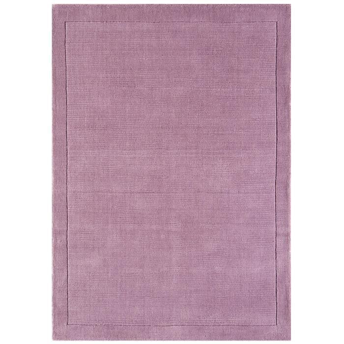 benuta tapis uni rose 240x340 cm achat vente tapis cdiscount. Black Bedroom Furniture Sets. Home Design Ideas