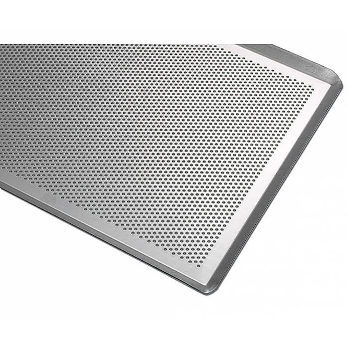 matfer plaque aluminium perfor 60 x 40 achat. Black Bedroom Furniture Sets. Home Design Ideas