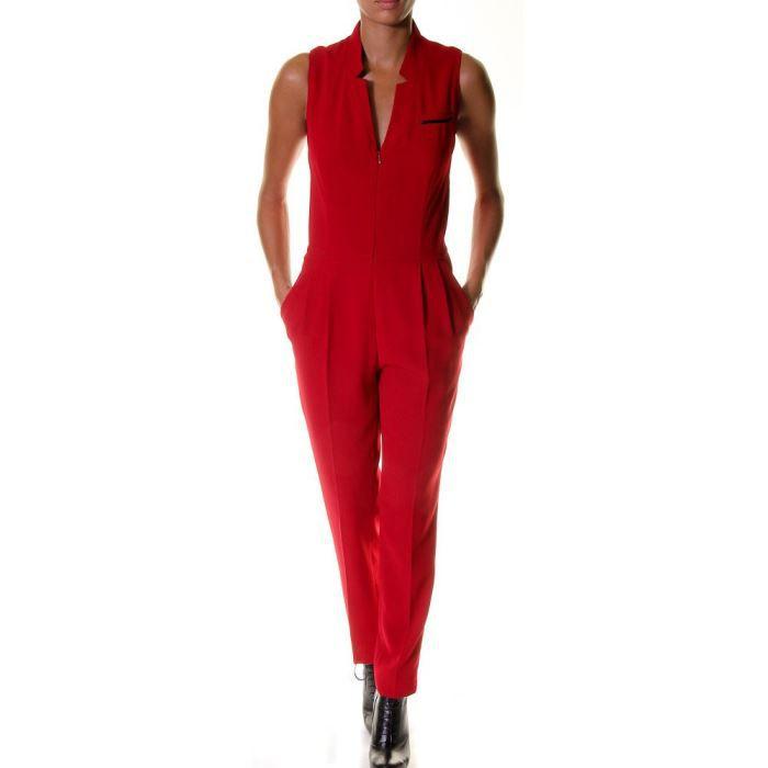 combinaison esprit rouge rouge achat vente combinaison cdiscount. Black Bedroom Furniture Sets. Home Design Ideas