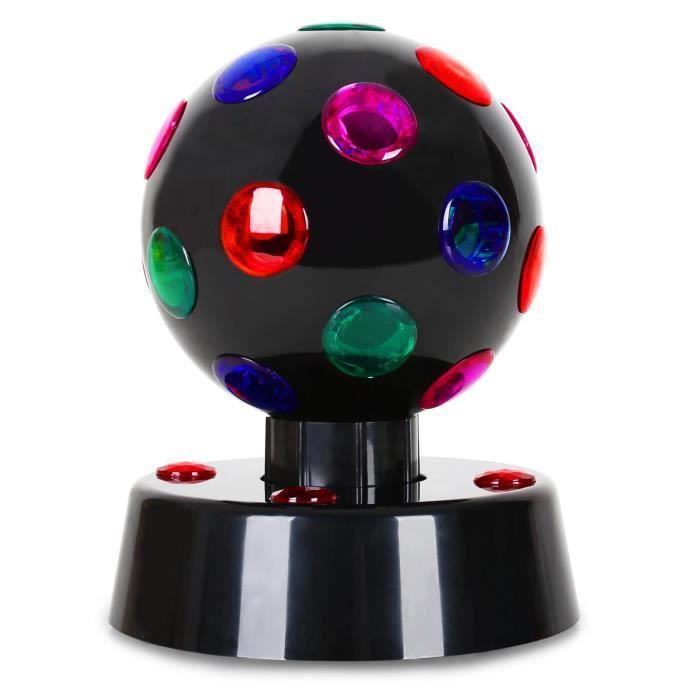 oneconcept boule disco 4 b effet de lumi re led lampe et spot de sc ne avis et prix pas. Black Bedroom Furniture Sets. Home Design Ideas