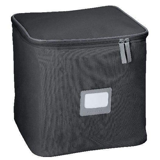 boite souple linea ego noir cubique achat vente boite de rangement boite souple linea ego. Black Bedroom Furniture Sets. Home Design Ideas