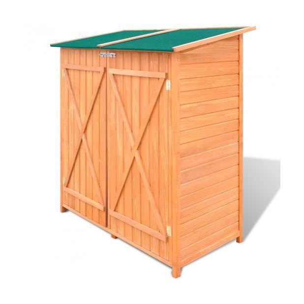 superbe abri de jardin grand coffre de rangement en bois jardin achat vente coffre d. Black Bedroom Furniture Sets. Home Design Ideas