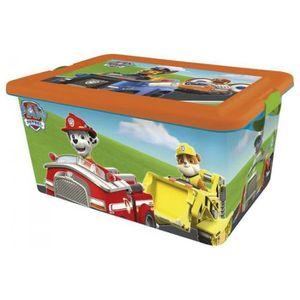 boite de rangement pour jouets achat vente jeux et jouets pas chers. Black Bedroom Furniture Sets. Home Design Ideas