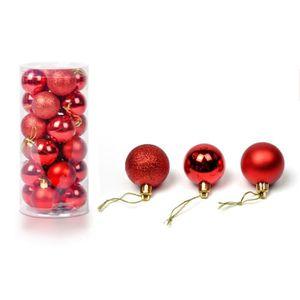 decoration de noel rouge et or achat vente decoration de noel rouge et or pas cher cdiscount. Black Bedroom Furniture Sets. Home Design Ideas