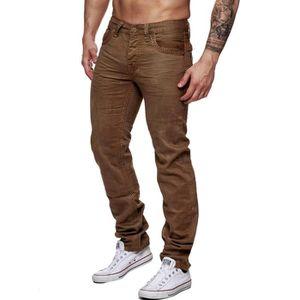 jeans marron homme achat vente jeans marron homme pas. Black Bedroom Furniture Sets. Home Design Ideas