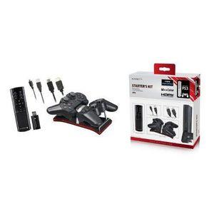 PACK ACCESSOIRE Playfect PFT54805 Kit d'accessoires pour PS3