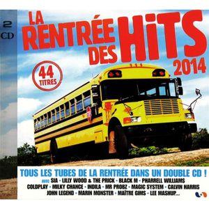 CD COMPILATION LA RENTREE DES HITS 2014 - 4 CD
