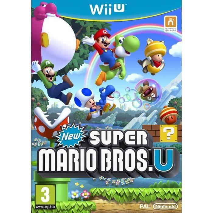 JEUX WII U New Super Mario Bros U Jeu Wii U