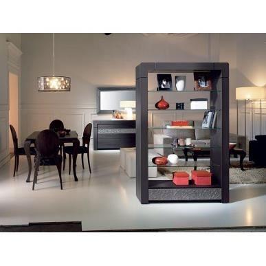 biblioth que de s paration coloris cuivr vittro dvtvis. Black Bedroom Furniture Sets. Home Design Ideas