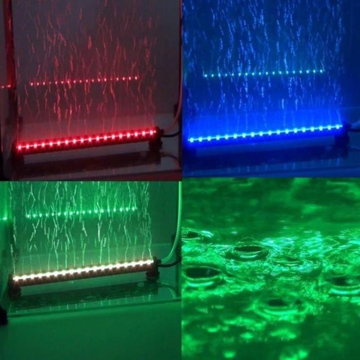 lampe a bulle aquarium smd5050rgb 80cm 15 couleurs 27 x 15. Black Bedroom Furniture Sets. Home Design Ideas