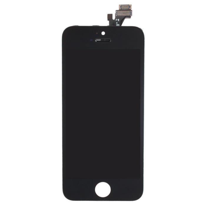 cran lcd complet pour iphone 5 noir achat pi ce t l phone pas cher avis et meilleur prix. Black Bedroom Furniture Sets. Home Design Ideas