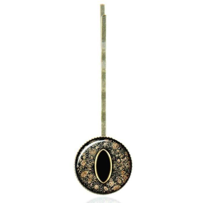 epingle cheveux au cabochon vintage l 39 oeil achat vente barrette chouchou epingle. Black Bedroom Furniture Sets. Home Design Ideas
