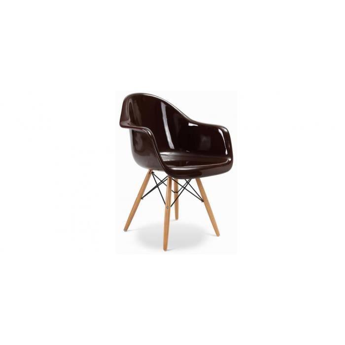 Chaise daw inspir e charles eames fibre de verre achat for Chaise charles eames fibre de verre