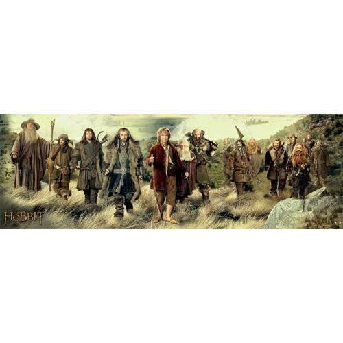 Empire poster de porte hobbit avec accessoire de for Porte hobbit