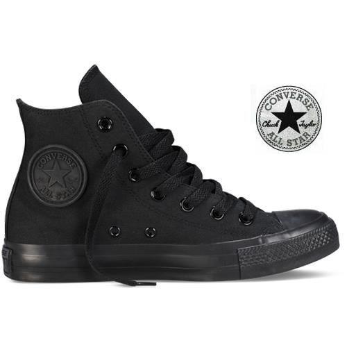 Converse All Star Cuir Noir Homme