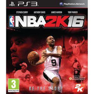 JEU PS3 NBA 2K16 Jeu PS3