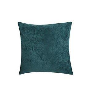 housse coussin bleu canard achat vente housse coussin bleu canard pas cher cdiscount. Black Bedroom Furniture Sets. Home Design Ideas