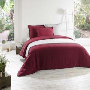 couette bordeaux achat vente couette bordeaux pas cher les soldes sur cdiscount cdiscount. Black Bedroom Furniture Sets. Home Design Ideas