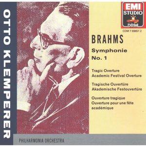 CD MUSIQUE CLASSIQUE CD Brahms Symphonie 1 Ouver [CD] Otto Klemperer …