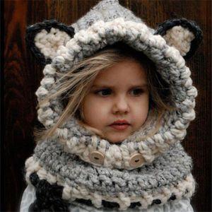 CASQUETTE , SNOOD Hicollie® Enfant Bébé Fille Garçon Bonnet Chapeau