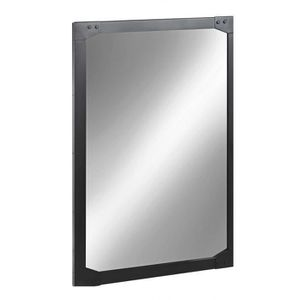 Miroir m tal 120 x 80 cm factory inwood achat vente for Miroir rectangulaire 120 cm