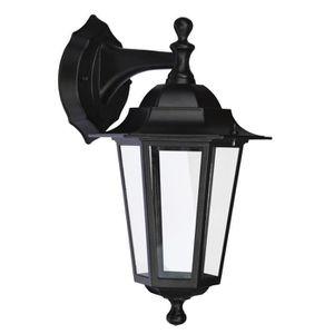 Applique murale exterieur noir achat vente applique for Lampe murale exterieur