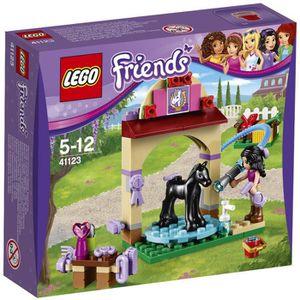 ASSEMBLAGE CONSTRUCTION LEGO® Friends 41123 Le Toilettage du Poulain