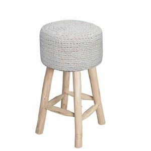 tabouret en laine achat vente tabouret en laine pas. Black Bedroom Furniture Sets. Home Design Ideas
