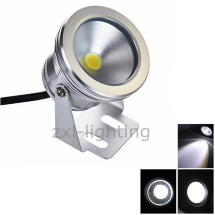 10w led luminaire d 39 ext rieur etanche 12v blanc spot for Luminaire exterieur etanche