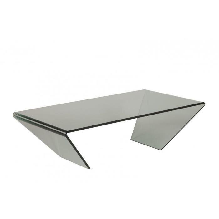 Table basse emeraude en verre achat vente table basse - Plaque de verre pour table basse ...