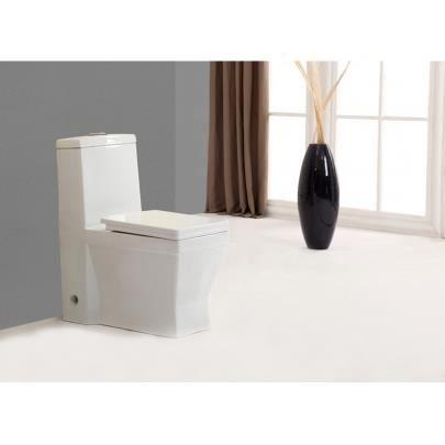 Wc pos decha avec abattant silencieux blanc achat vente wc toilette - Abattant wc silencieux ...