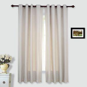 rideaux isolant thermique achat vente rideaux isolant thermique pas cher cdiscount. Black Bedroom Furniture Sets. Home Design Ideas