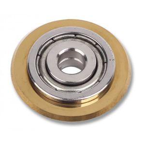 CARRELETTE Molette RUBI de rechange GOLD 22 mm. pour Slim Cut