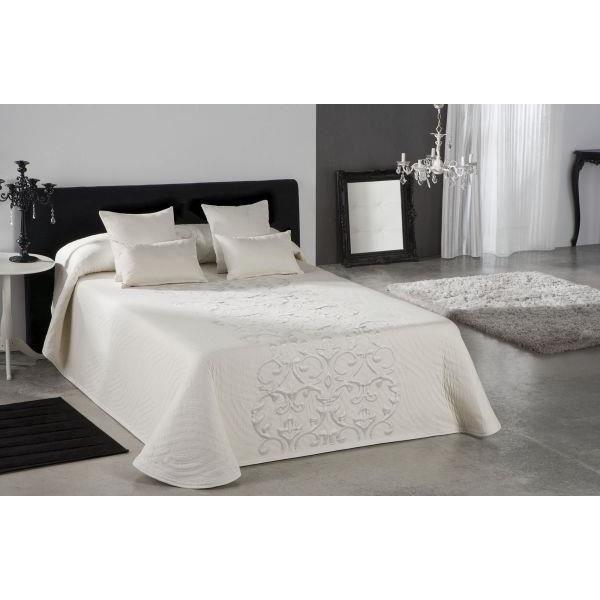 couvre lit 280x270 cm tiss jacquard piano pour lit de 180x200 cm et plus fabriqu en espagne c. Black Bedroom Furniture Sets. Home Design Ideas