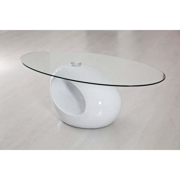 Table oeuf blanche achat vente table basse table oeuf blanche cdiscount - Table basse blanche cdiscount ...