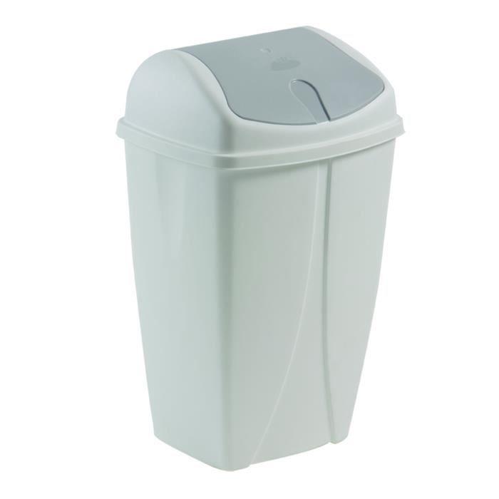 poubelle ronde 50 litres achat vente poubelle corbeille poubelle ronde 50 litres cdiscount. Black Bedroom Furniture Sets. Home Design Ideas