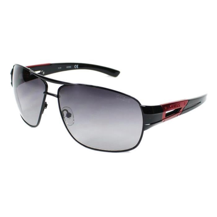 lunettes de soleil femme guess ggu6757 01b noir achat vente lunettes de soleil cdiscount. Black Bedroom Furniture Sets. Home Design Ideas