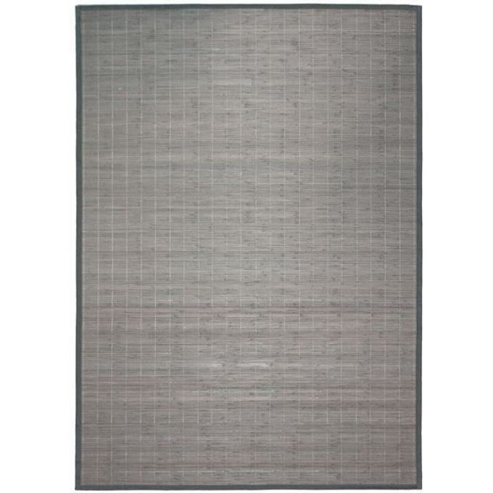 Bali Chic Tapis 60x90 Bambou Gris Achat Vente Tapis Cdiscount