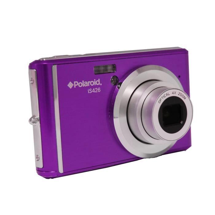 Polaroid is426 violet 16 m gapixels cran 2 4 39 39 appareil for Ecran appareil photo