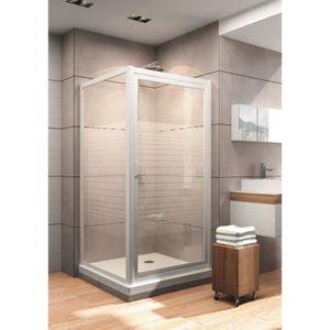 Cabine douche 90x90 achat vente cabine douche 90x90 pas cher cdiscount - Porte de douche 90 cm pas cher ...