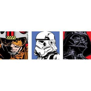 toile star wars achat vente toile star wars pas cher cdiscount. Black Bedroom Furniture Sets. Home Design Ideas